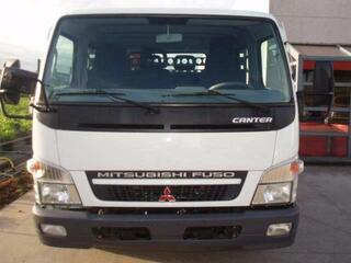 Mitsubishi Canter fuso canter met dubbelcabine+kraan //125000 km