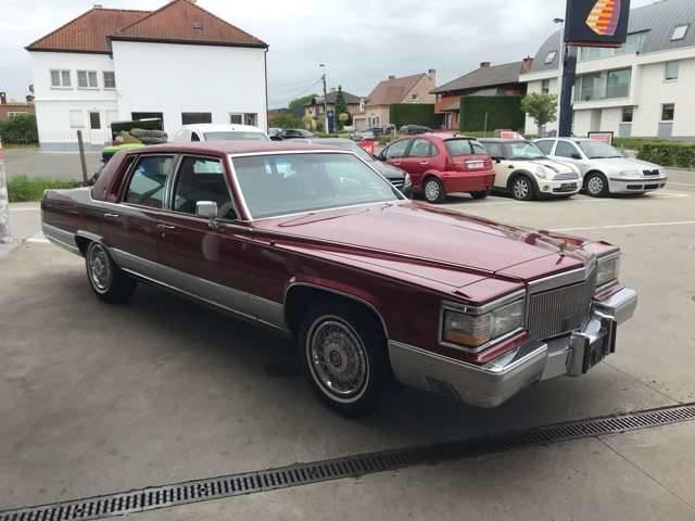 Cadillac Brougham 55887 KM/CAR PASS//OLDTIMER//CONTROL TECHNIQUE