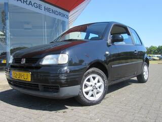 SEAT AROSA 1.4 i Zwart (occasion) Airbags , Radio/cd, Stuurbekrachtiging airco