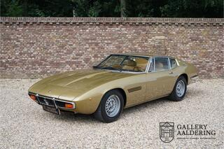 Maserati Ghibli SS 4.9 Original color scheme, Maserati certified, original interior, low mileage example