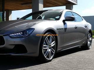 Maserati Ghibli Q4-Skyhook Susp-Poltrona Frau Leder-Alu 20 Urano