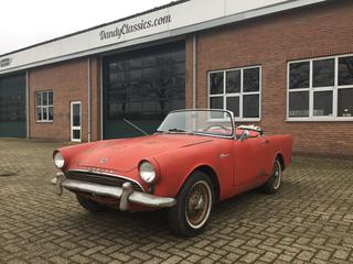 MG A Sunbeam Alpine