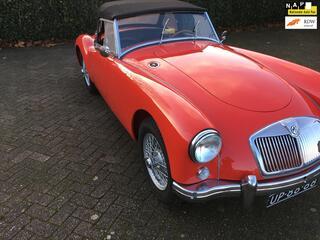 MG A 1500 CABRIOLET 1956,UNIEKE NEDERLANDSE AUTO  TOP RESTAURATIE  TOT CONCOURSSTAAT