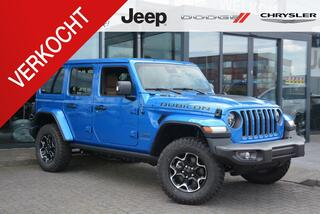 Jeep Wrangler Unlimited 4xe 380 Rubicon   Hydro blue   VERWACHT