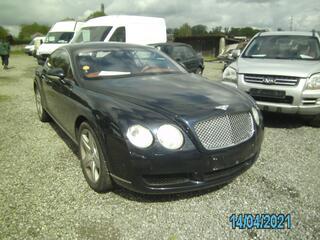 Bentley Continental 233 dkm ,bruin leder ,F.O.,onderhoud bourgoo knokke,21500 +btw export