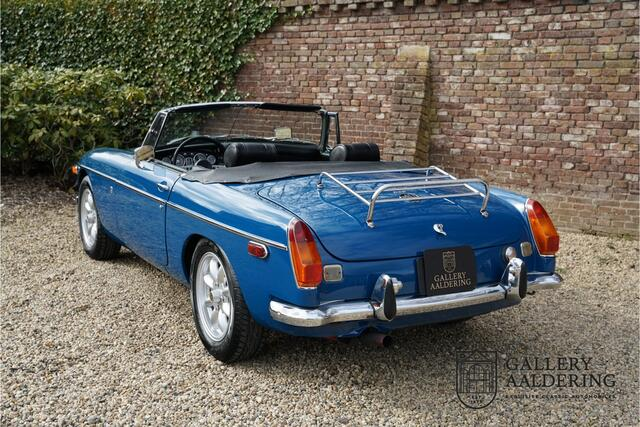 MG B Roadster Restored condition, long term ownership