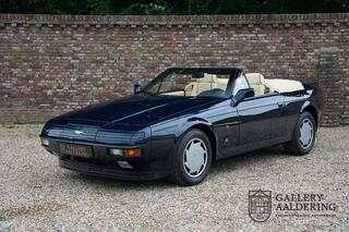 Aston Martin Volante V8 ZAGATO Fully restored and revised, only 37 made, less than 400 kilometres from new, 6 speed automatic