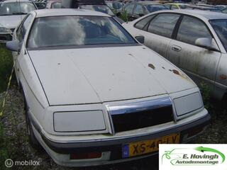 Chrysler LE-BARON 2.2 Turbo LOOP/SLOOP