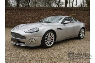 Aston Martin Vanquish V12 5.9 only 49.752 kms from new famous 1st owner, EU car, S-Spec, known history, all books