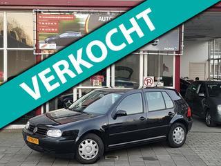 Volkswagen GOLF 1.4 55KW 2000 Zwart 5-DRS Airco/187DKM NAP