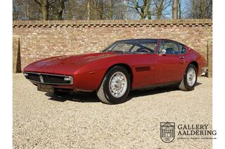 Maserati Ghibli 4.9 SS matching numbers / colours, rare SS version, only 2 owners, only 21.222 km