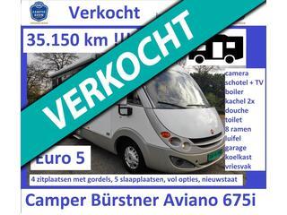 Burstner A4 Camper Aviano 675i 35.150km  - 4 p