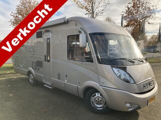 Hymer T 708 SL 150pk Automaat Queensbed 2xAirc